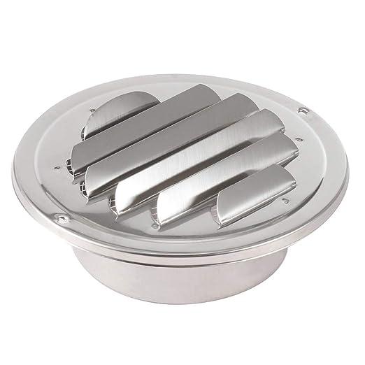 100 mm de acero inoxidable Rejilla de ventilación rejilla de ...