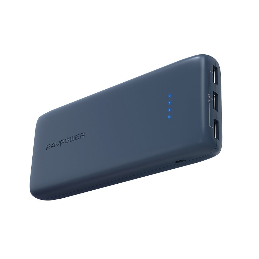 Power Banks RAVPower 22000mAh Portable Charger, High Capacity Portable Battery Pack 22000 with 3 USB Ports, High Speed Charging Battery Bank 5.8A Max Output for Smartphone Tablet and More