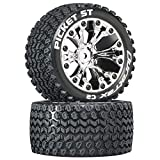 """Duratrax Picket ST 2.8"""" 2WD Mounted 1/2"""" Offset"""