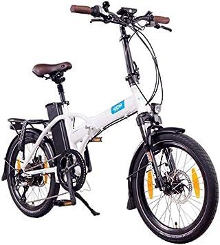 NCM London (+) Bicicleta eléctrica Plegable, 250W, Batería 36V 15Ah/19Ah 540/Ah684Wh, 20
