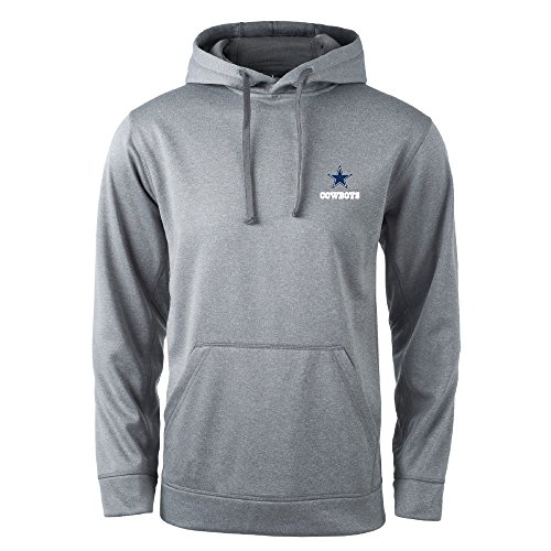 NFL Dallas Cowboys Champion Tech Fleece Hoodie, Heather Grey, X-Large
