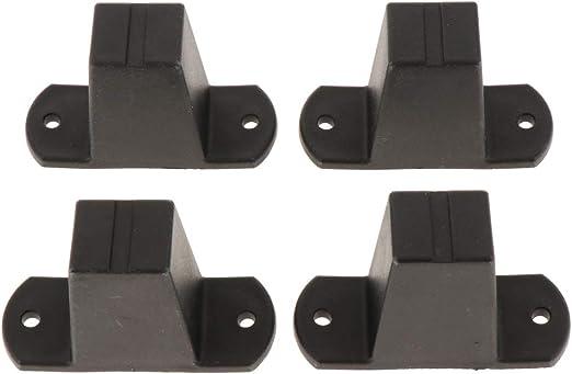 KESOTO 4 Pack Durable Bolsas de Equipaje Stud Foot, Maletas ...