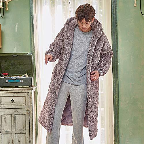 Spesso Uomo Robe 170cm Bathrobex L Xl 70kg Accappatoio Autunno In Cotone 80kg 180cm 175 Lungo Kimono 70 Pigiama 60 Inverno 165 E Trapuntato dPwwXpq