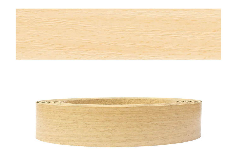 Mprofi (20m rollo) Cantoneras laminadas melamina para rebordes con Greve Haya claro 22 mm