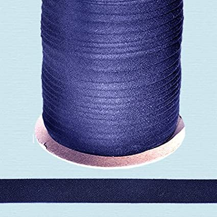 Bias Tape ~ 1/2 Wide Double-fold Bias Tape ~ NAVY ~ Poly Cotton (10 Yards / Pack) NY BINDING