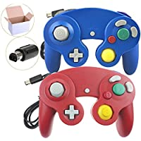 Poulep 2 Packs Classic Wired Gamepad Controllers for Wii...