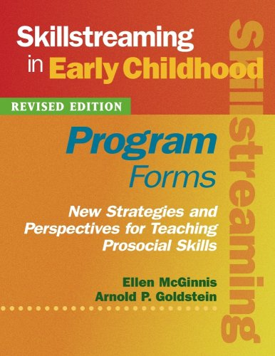 Skillstreaming in Early Childhood: Program Forms (Book and CD)
