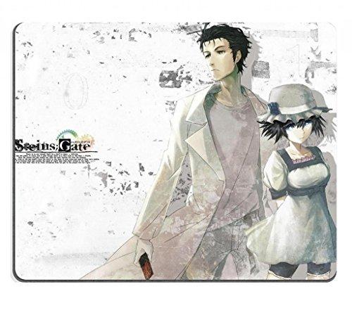 - Steins Gate 34 Okabe Rintaro Shiina Mayuri Anime Game Gaming Mouse Pad