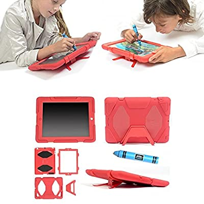 ipad 2/3/4 case,kidspr ipad case *NEW* *HOT* Super Protect[shockproof] [rainproof] [sandproof] with Built-in Screen Protector for Apple iPad 2/3/4,2015 new style for ipad 2/3/4