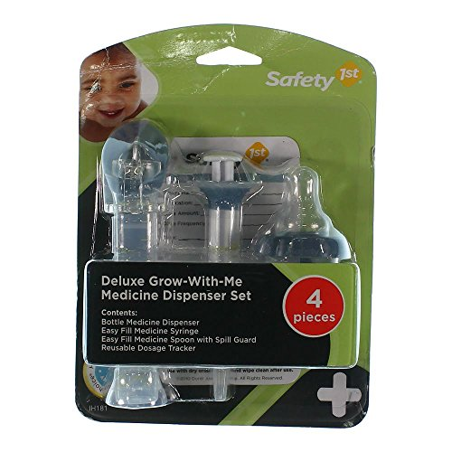 Deluxe Grow with Me Medicine Dispenser Set 4 Pieces