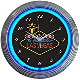 Cheap Neonetics Las Vegas Sign Neon Wall Clock, 15-Inch