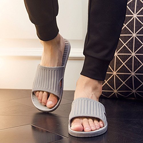 Chaussons Grey Men Femme pour Zhuomei xAqpXwSw
