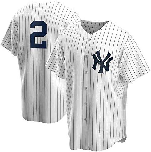 GMRZ Camiseta De Hombre, MLB con New York Yankees #2 Jeter Diseño Logo Ropa Deportiva Equipo Béisbol De Grandes Ligas Fans Jersey Manga Corta Bordada Verano 3D Unisexo: Amazon.es: Deportes y aire