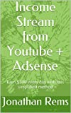 Income Stream from Youtube + Adsense