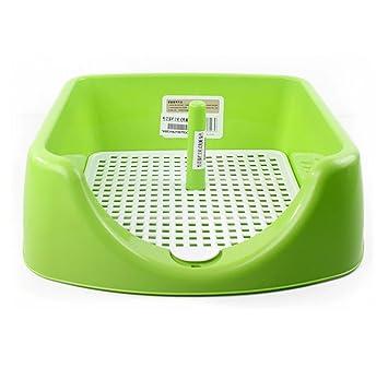 DAN Perros Animal-WC inodoro perros bandeja para entrenar perros mascotas para , green: Amazon.es: Deportes y aire libre
