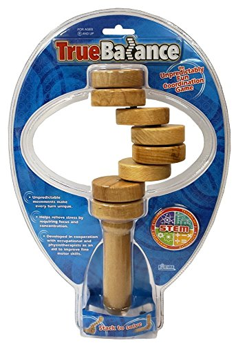 TrueBalance - The Unpredictably Fun Coordination Game (STEM Toy / Learning Device) Helps with Developing Focus and refines Fine Motor Skills. True Balance combines learning and fun. Developing Fine Motor Skills