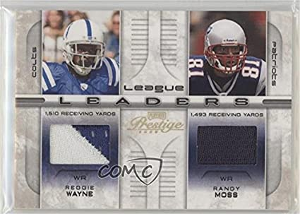 8bb3aeb46c6 Amazon.com  Randy Moss  Reggie Wayne  21 25 (Football Card) 2008 ...