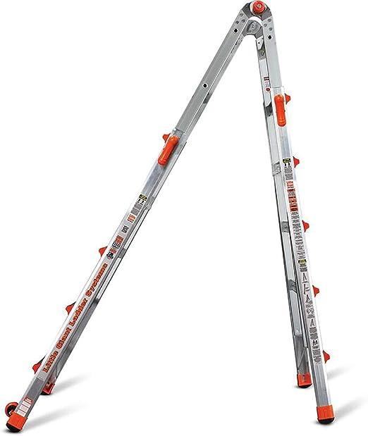 Little Giant escalera de aluminio de 22 pies tipo IA multiposición LT escalera: Amazon.es: Jardín