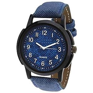 New Raiyaraj Embroidery Analogue Blue Dial Boy's Watch