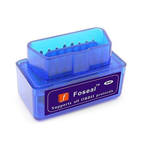 Foseal Bluetooth OBD2 OBD Scanner Check Engine Light OBDii Bluetooth Car Diagnostic Scan Tool for Android Device …