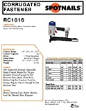 "Spotnails RC1016 1"" Width Corrugated Nailer New"