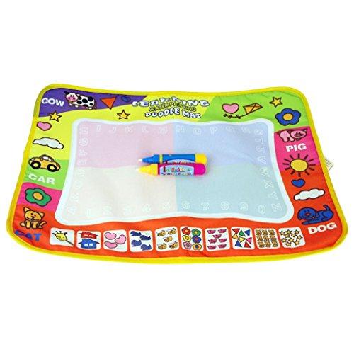 Developmental Toys,Aqua Doodle Children Drawing Toys Mat Magic Pen Educational Toy 1 Mat+ 2 Magic (Mario Accessory Child Kit)