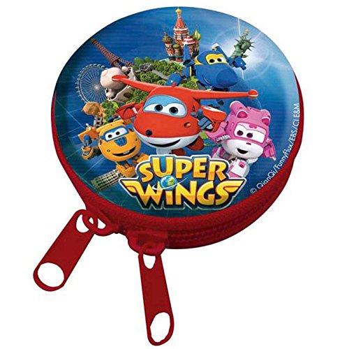 Super Wings Porte-Monnaie Rond métallique 8426842050690