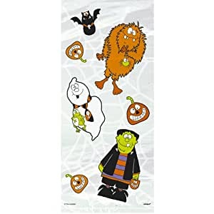 Little Monsters Cellophane Bags, 20 Count
