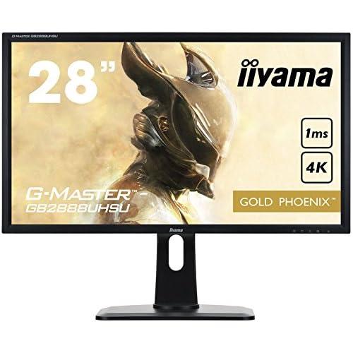 chollos oferta descuentos barato  iiyama G MASTER Gold Phoenix GB2888UHSU B1 Monitor Gaming LED 71 cm 28 4K UHD VGA 3xHDMI DisplayPort