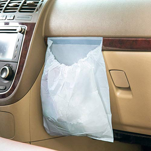 Car Garbage Bag Reusable Auto Trash Bag for Litter Large Capacity Leak-Proof Portable Convenient, 30Pcs