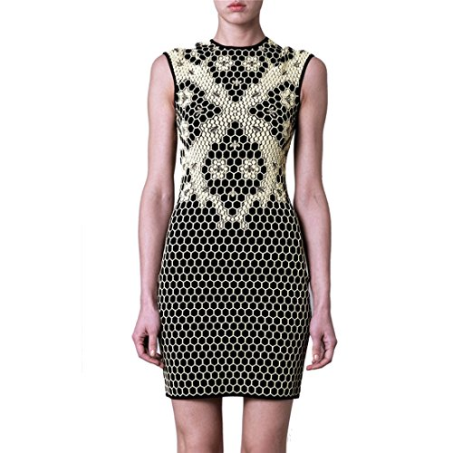 honeycomb wrap dress - 7