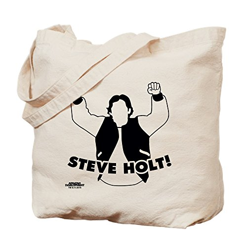 CafePress–Steve Holt–Gamuza de bolsa de lona bolsa, bolsa de la compra Small caqui