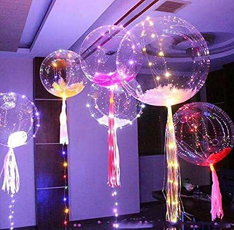 Fengh Globo LED intermitente para decoración de cumpleaños ...