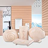 Designer Bathroom Accessories Brandream Designer Coastal Shell Bathroom Accessories Creative Bathroom Sets Resin