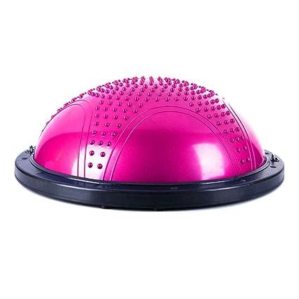 Amazon.com: Yoga Ball, Bola Pilates Balance Hemisphere Gym ...