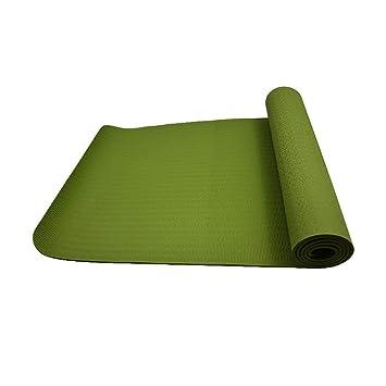 VSousT TPE Estera de Yoga 6mm Estera de Fitness Soporte para ...