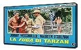 Poster - Tarzan Escapes_25 - Canvas Art Print