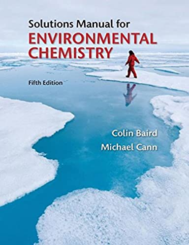 amazon com solutions manual for environmental chemistry rh amazon com Colin Baird Articles Colin Baird Buccaneers