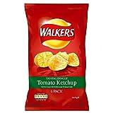 Walkers Crisps - Tomato Ketchup (6x25g)
