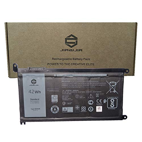 5379 Replacement - JIAZIJIA WDX0R Laptop Battery Replacement for Dell Inspiron 5368 5378 5379 5567 5568 5570 5575 5578 5770 5775 7368 7375 7378 7460 7560 7569 7570 7573 7579 Series 0NHRT 451-BCDN 11.4V 42Wh 3500mAh