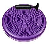 Bintiva round balance disc purple 33cm Review