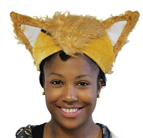 Furry Fox Novelty Hat (One size fits most)