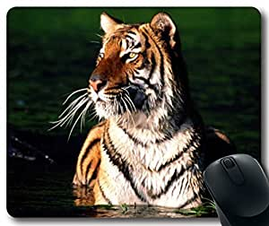 Animals-Tiger Mousepad,Rectangle Mouse Pad
