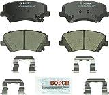 Automotive : Bosch BC1543 QuietCast Premium Ceramic Disc Brake Pad Set For: Hyundai Elantra, Elantra Coupe, Elantra GT; Kia Forte, Forte5, Forte Koup, Front