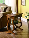 Coaster Transitional Cherry Rectangular Accent Table For Sale
