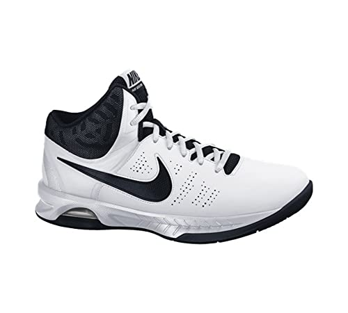 new product 24537 83210 Nike Men s Air Visi Pro VI Basketball Shoes, Blanco Black Gris (White
