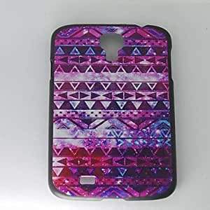 SUMCOM Purple Tribal Designs Hard Cases for Samsung S4 I9500
