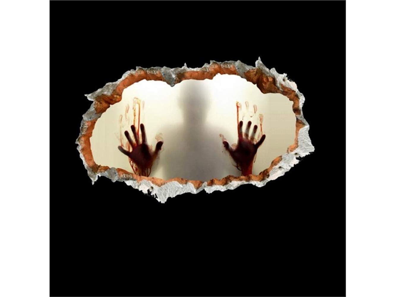 Hezon Happy Festival New Halloween 3D Horror Wall Mirror Window Stickers Removable by Hezon (Image #5)