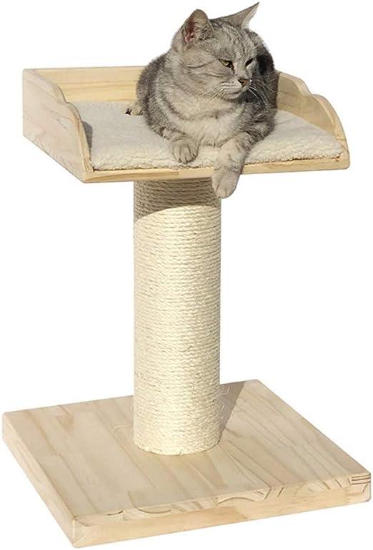 YI-LIGHT Marco De Escalada for Gatos De Interior,Cama for Mascotas Al Aire Libre Sisal Casa del Gato Habitación Mueble Garra De Molienda Plataforma De Salto: Amazon.es: Hogar