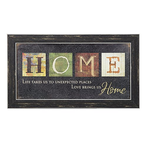Premium Home Country Inspirational Marla Rae Hanging Wall Art By Besti - Primitive Americana Decorative Plaque – Rustic Style Décor Sign With Saying – Excellent Quality - Map Place Tower Water